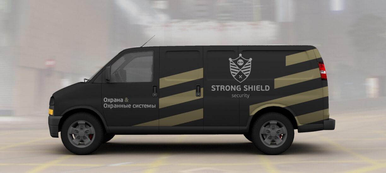 логотипа охранного агентства