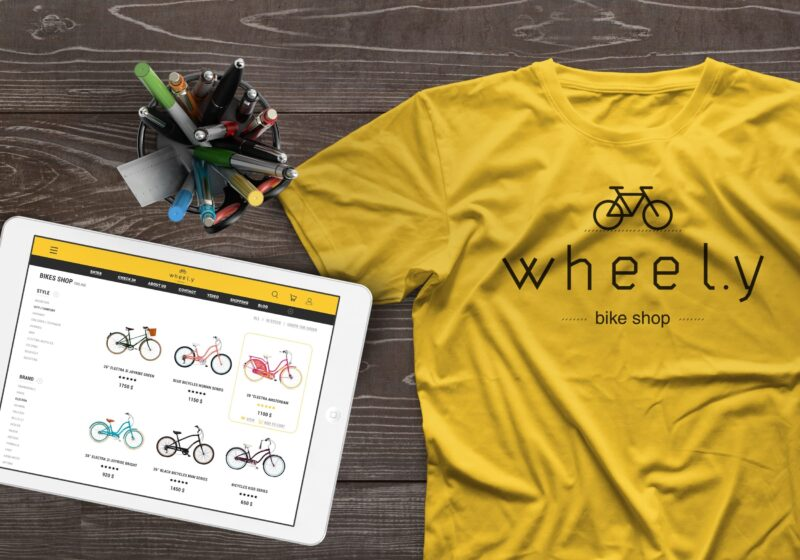 Online shop «Wheel.y»