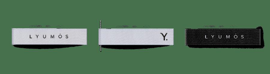 Разработка логотипа и брендирование для LYUMOS