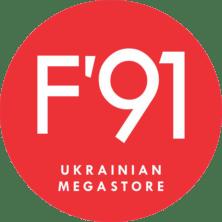 Разработка логотипа и брендбука F'91