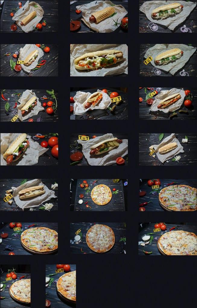фотосессия для пиццерии