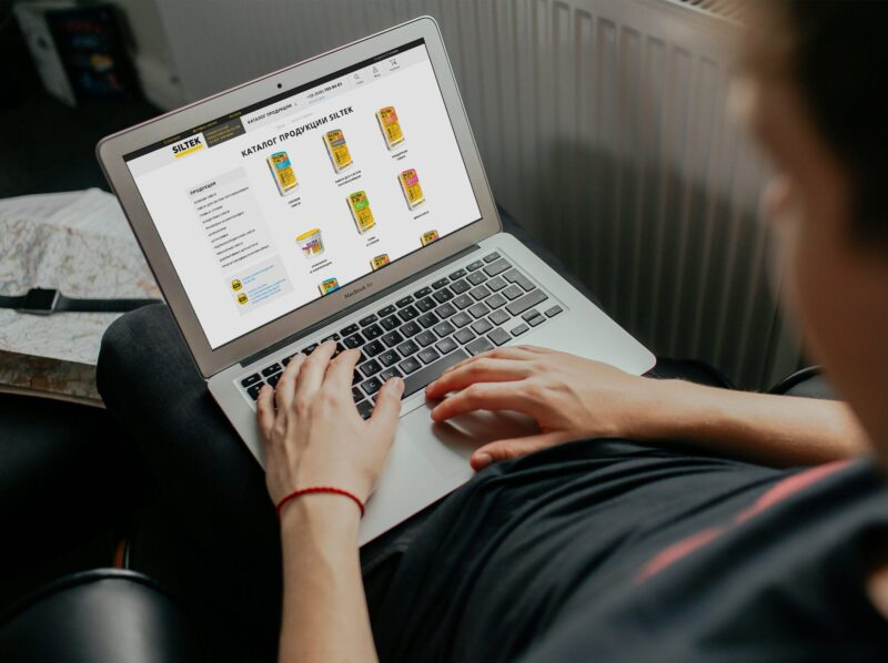 Дизайн сайта Siltek.od.ua