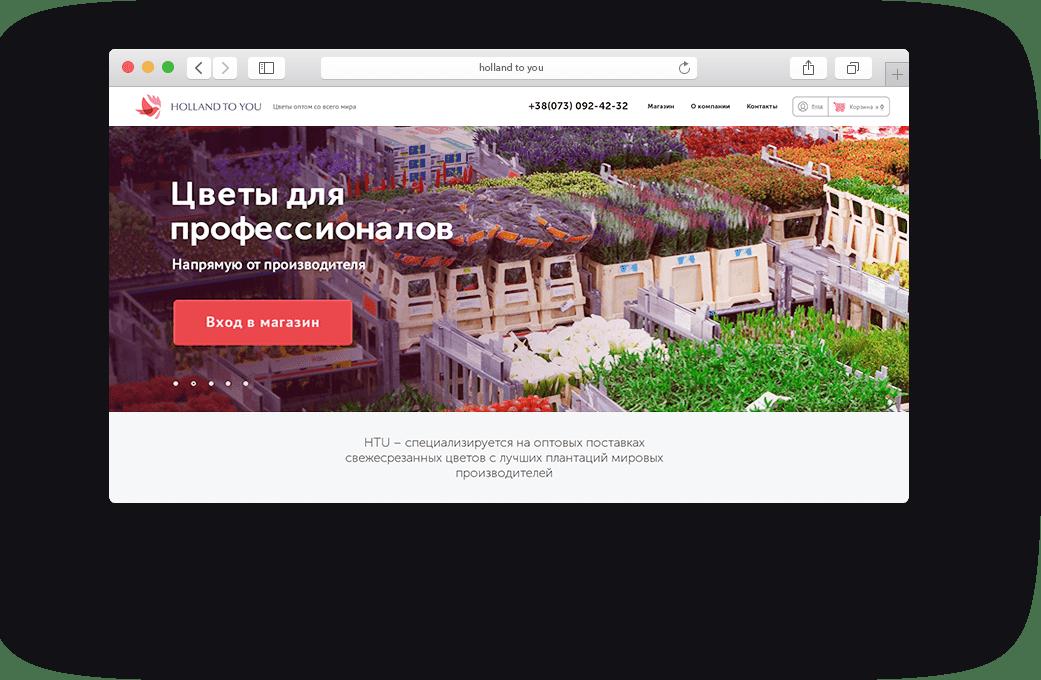 дизайн сайта для оптовиков
