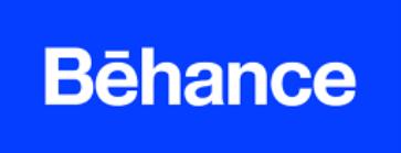 цвет логотипа behance